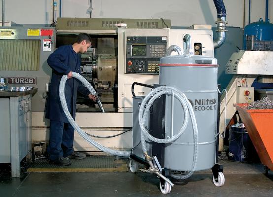 Aspirador de viruta metalica para la industria